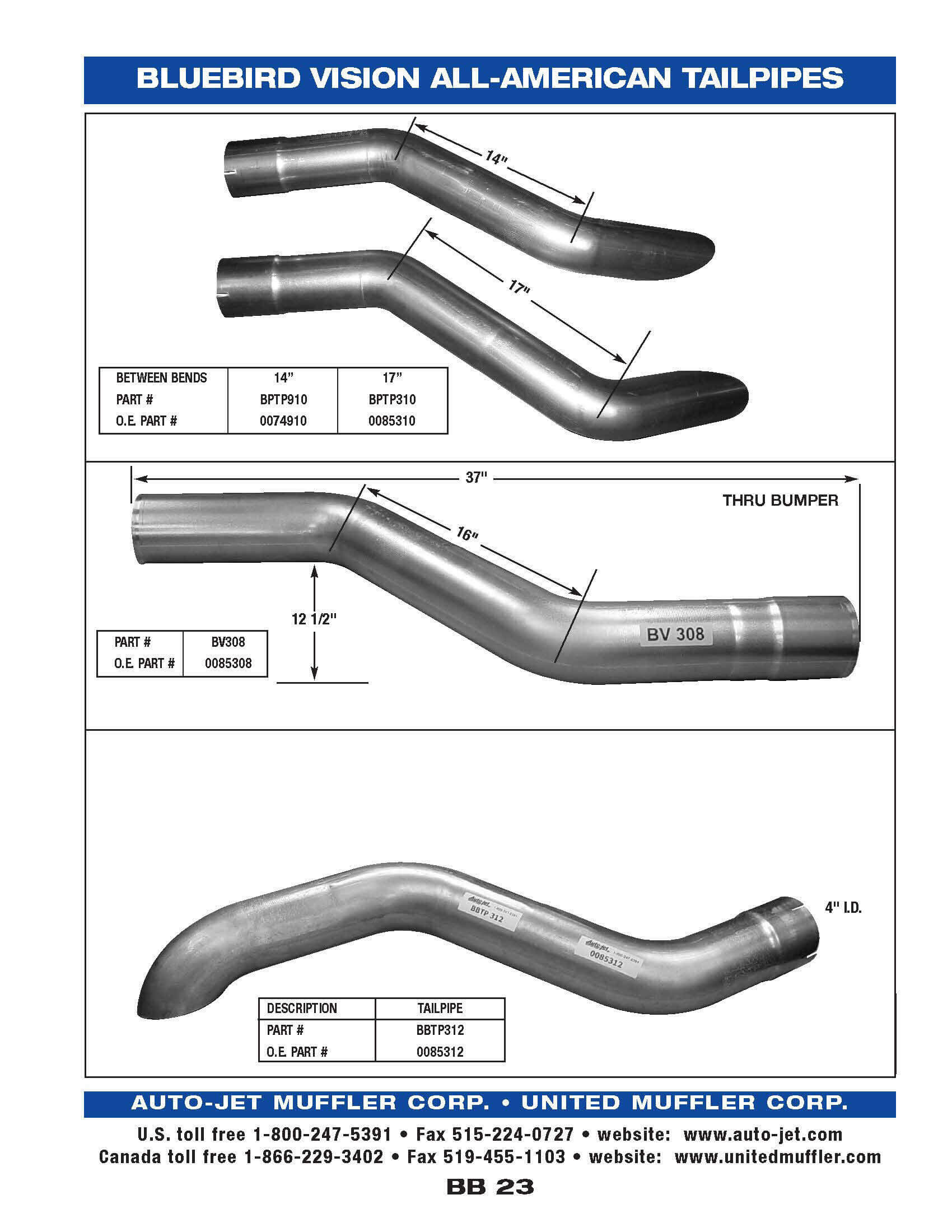 Bluebird United Muffler Corporation Exhaust System Diagram Related Keywords Suggestions Bb 23 1987 91 All American 83 Litre Cummins 4