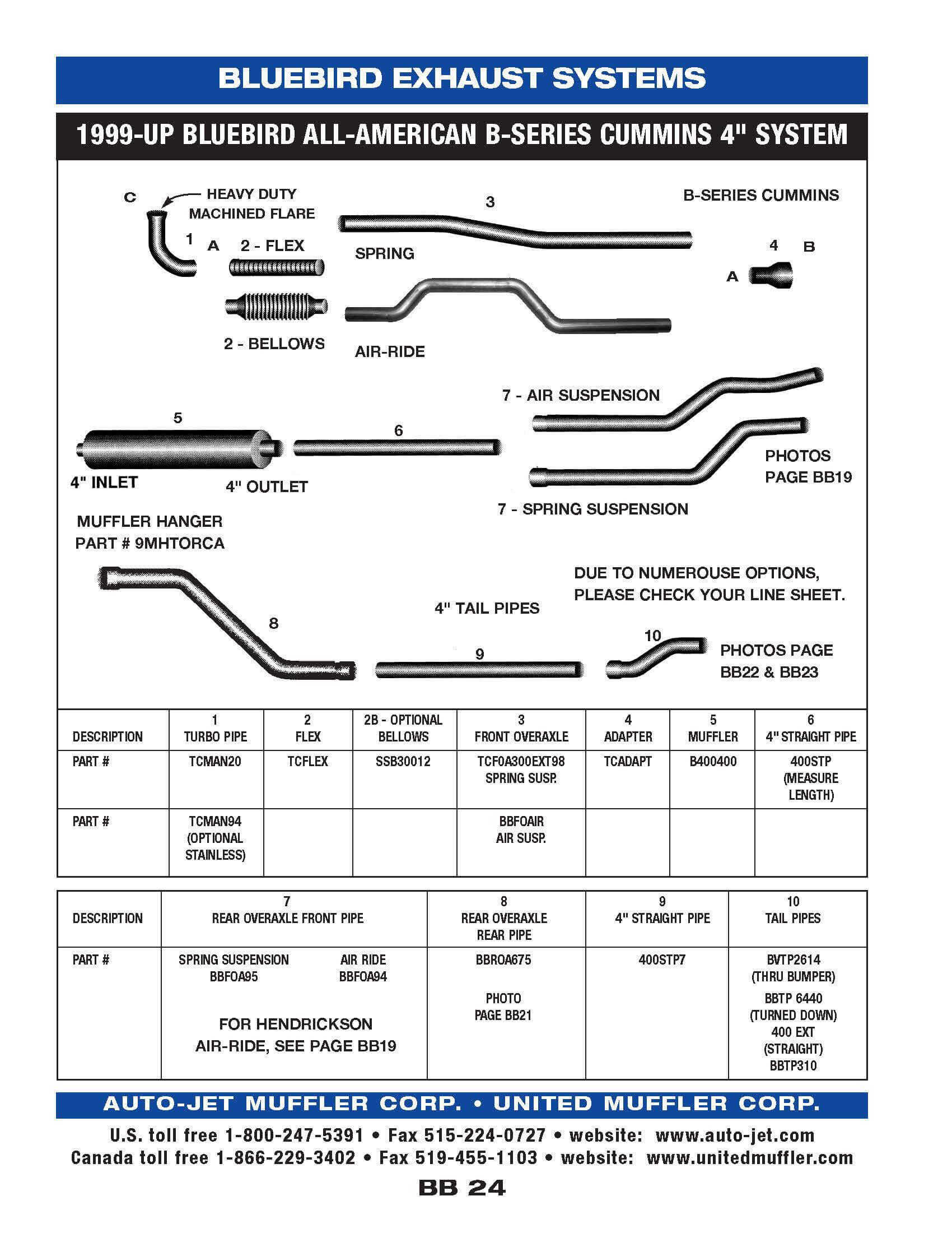 Bluebird – Diagram Of Rear Engine 3116