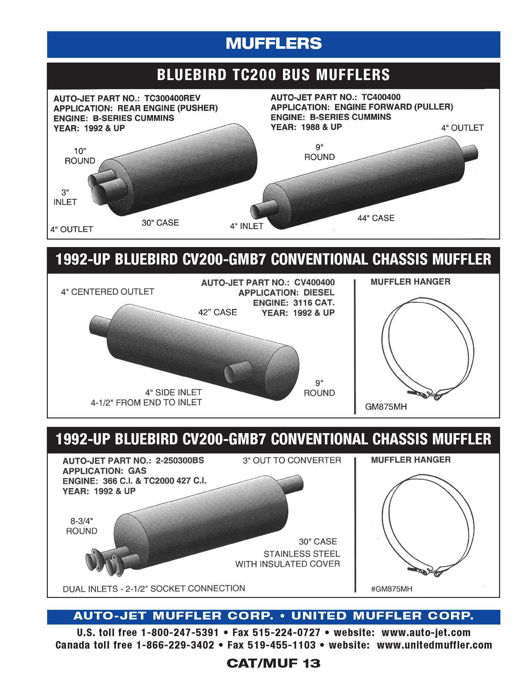 Catalytic | United Muffler Corporation