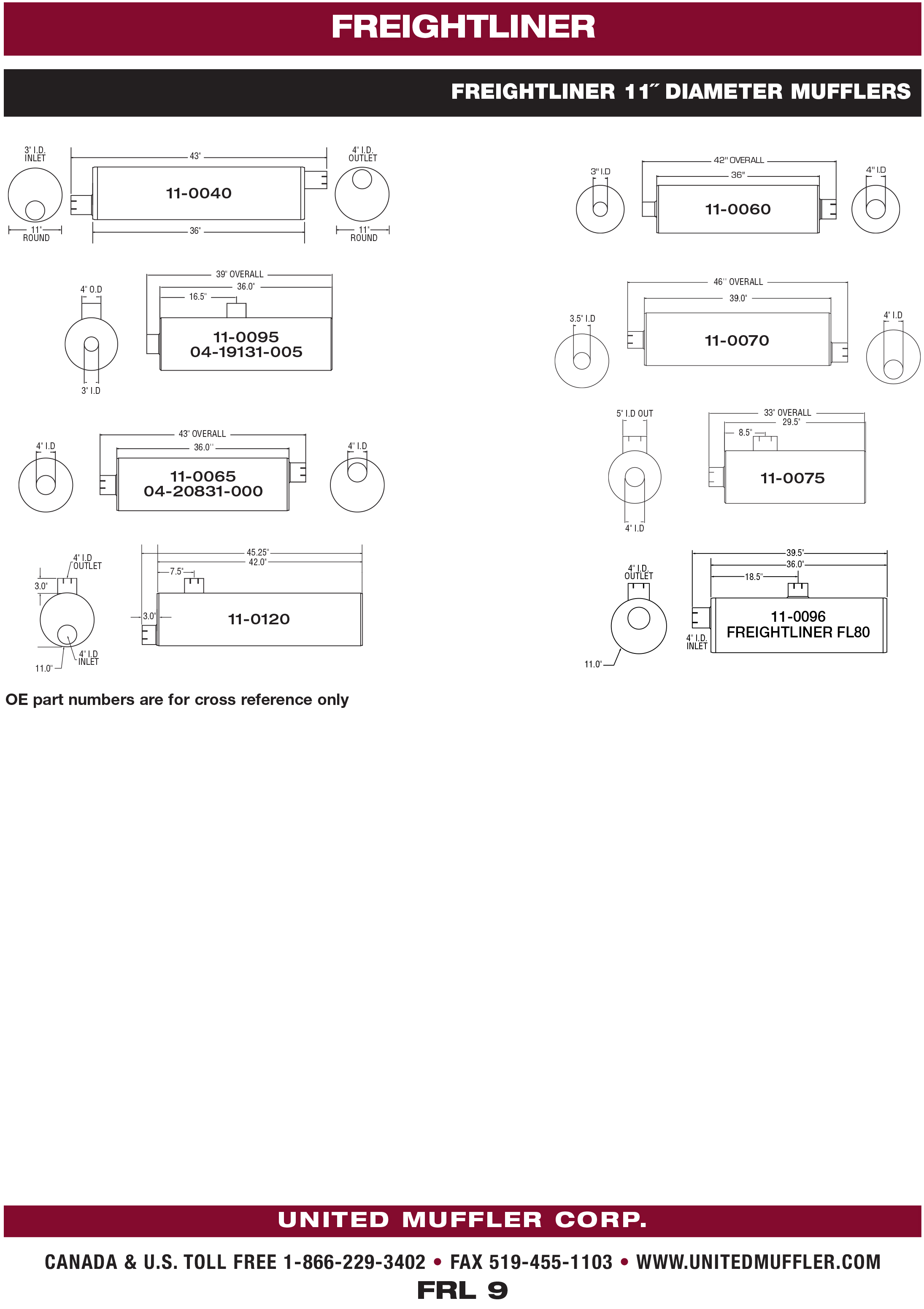 Freightliner United Muffler Corporation Truck Engine Diagram 9
