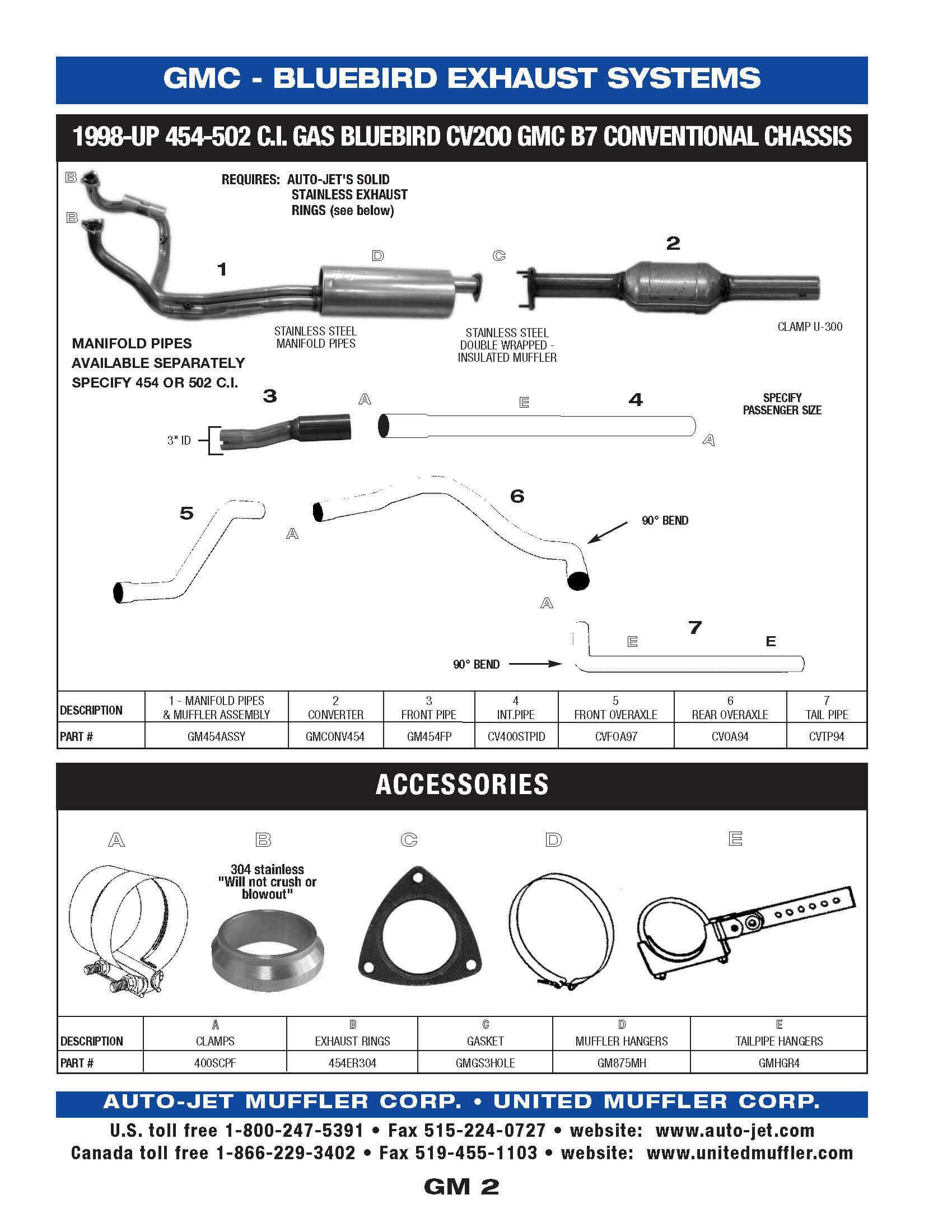 Gmc United Muffler Corporation 3 1 Liter Gm Engine Diagram 2